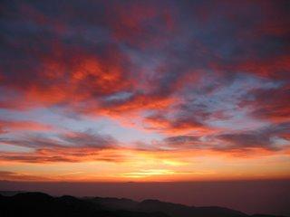 matahari terbit